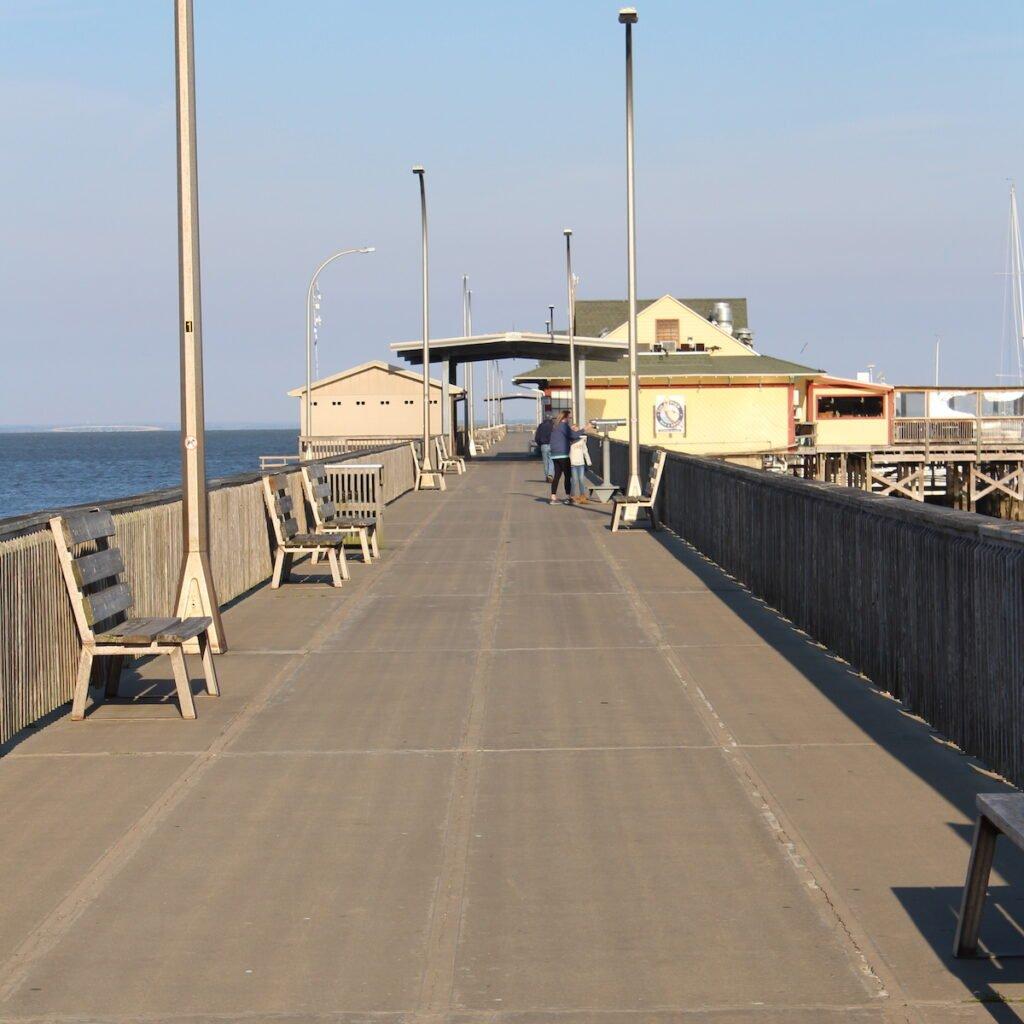 """Municipal Pier, aka """"Fairhope's Town Square."""""""