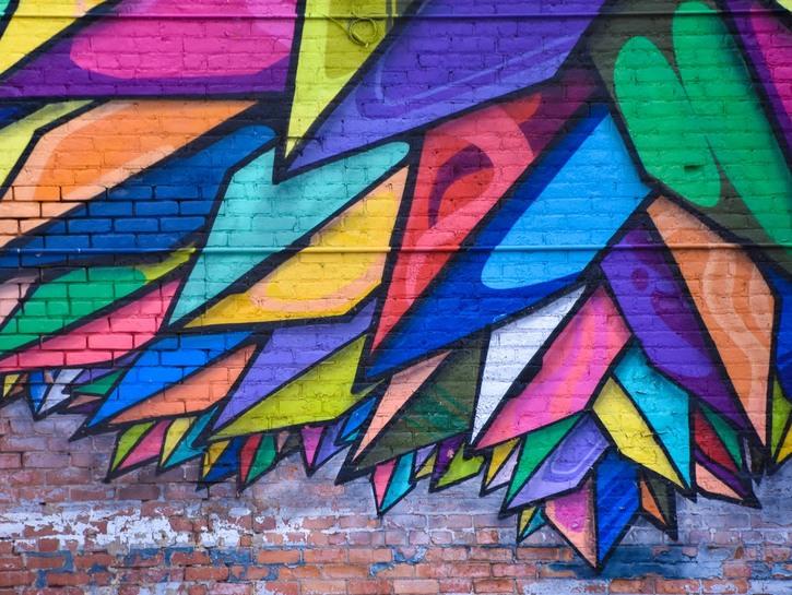 Mural in Detroit's Eastern Market