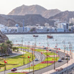 Muscat, the capital of Oman.