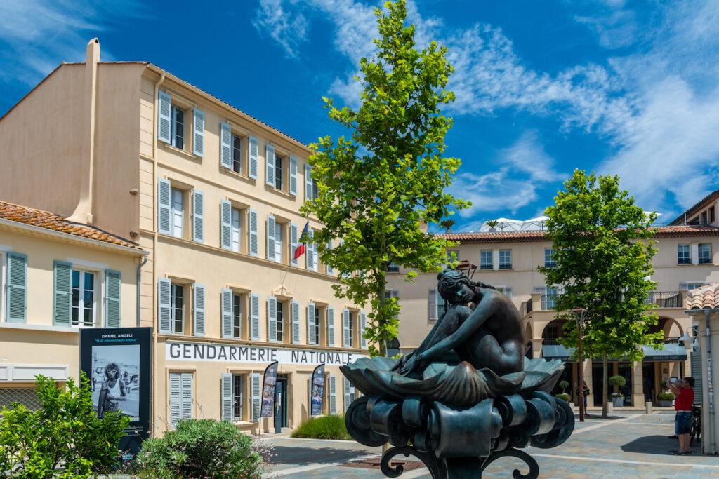 Musée de la Gendaramie et du Cinema in Saint Tropez.