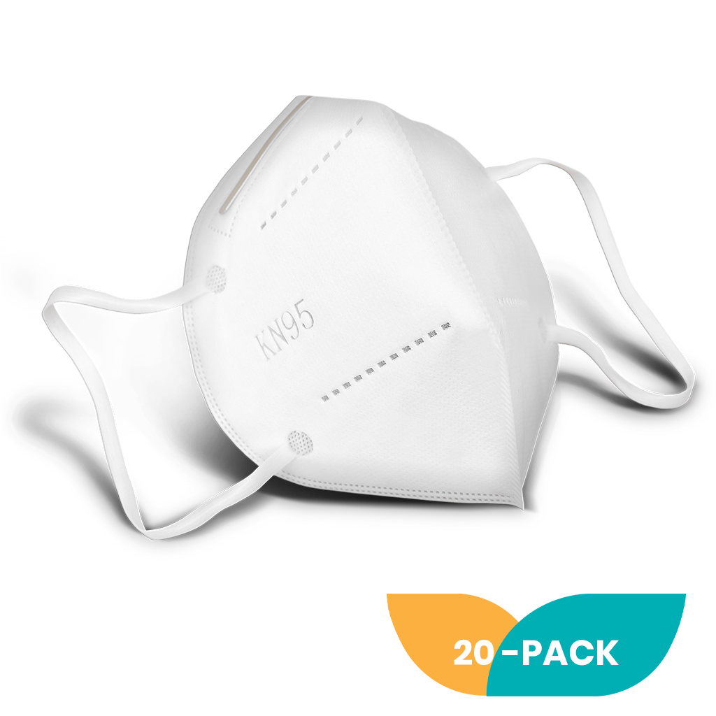 N95MaskCo KN95 Face Mask 20-pack