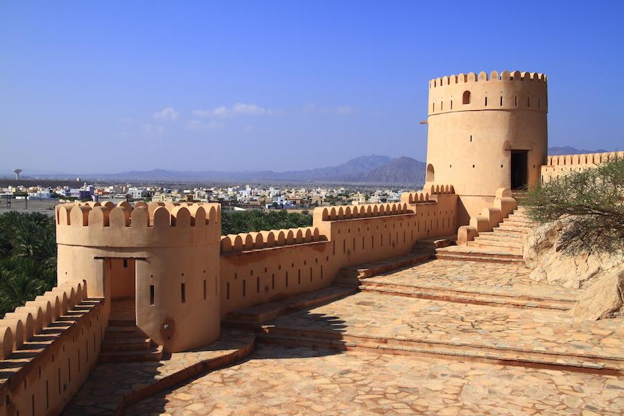 Nakhl Fort in Oman.