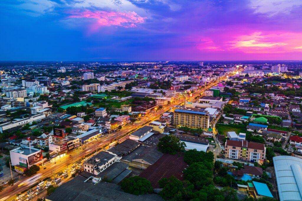 Nakhon Ratchasima, or Korat, in Thailand.