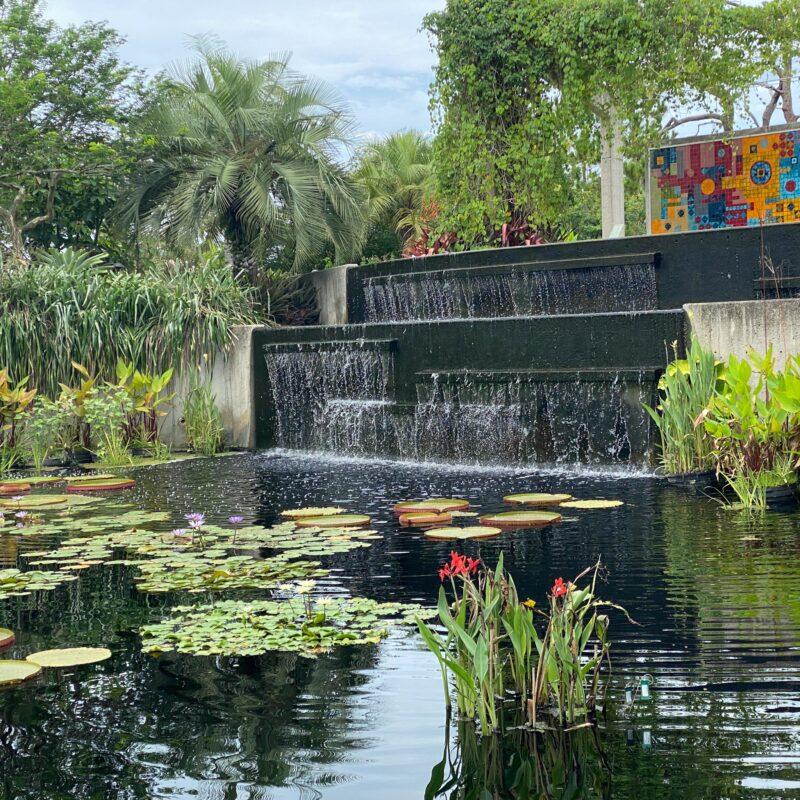 Naples Botanical Garden in Naples, Florida.