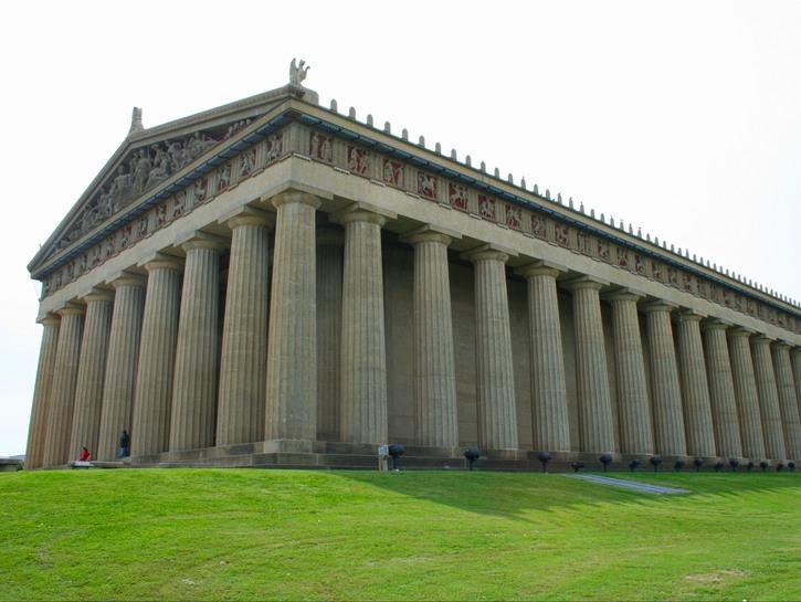Nashville's replica Parthenon