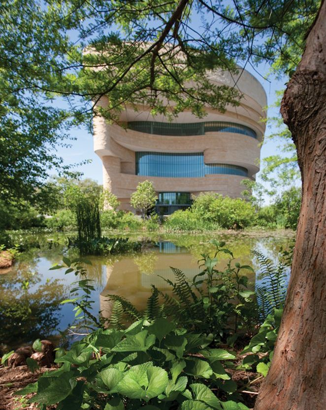 Native Landscape at the National Museum of the American Indian.