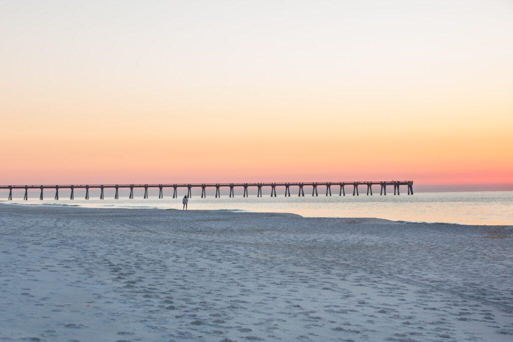 Navarre Beach in the Florida Panhandle.