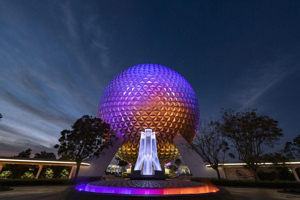 New Epcot Entrance, Walt Disney World Resort.