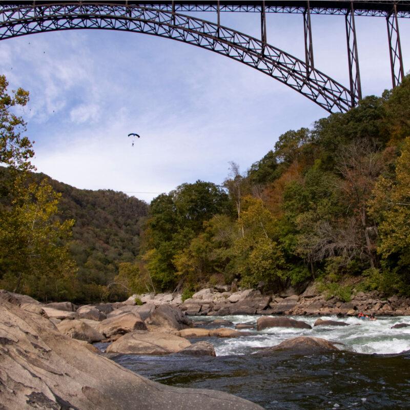 New River Gorge Bridge West Virginia.