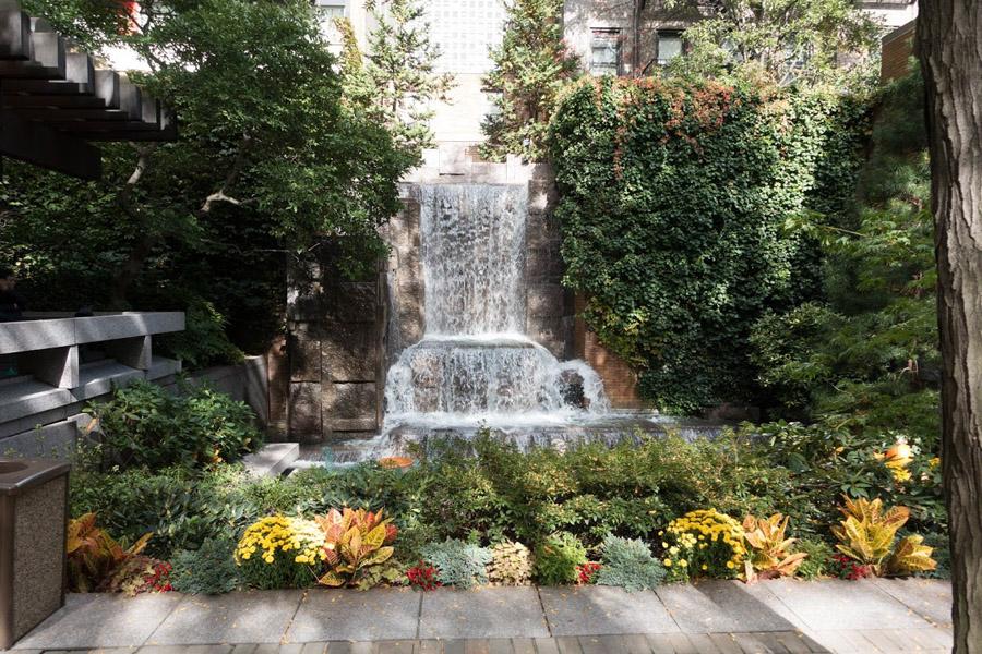 New York City's Greenacre Park.