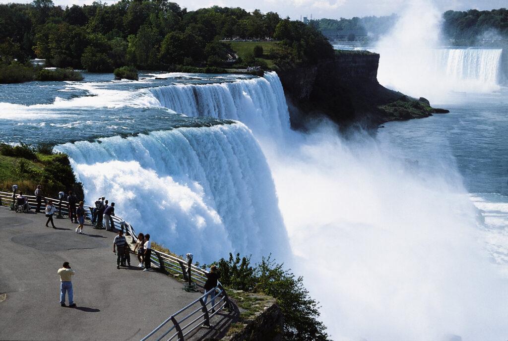 Niagara Falls from the U.S. side.