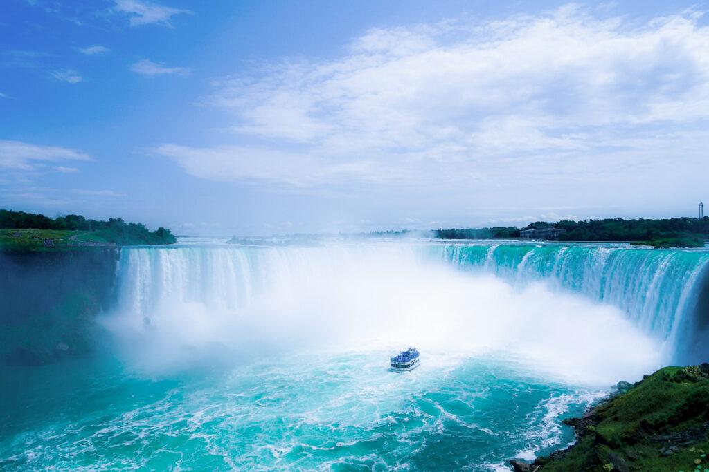 Niagara Falls in Ontario, Canada.