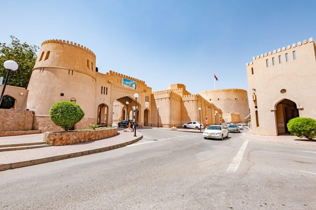 Nizwa Castle in Oman.