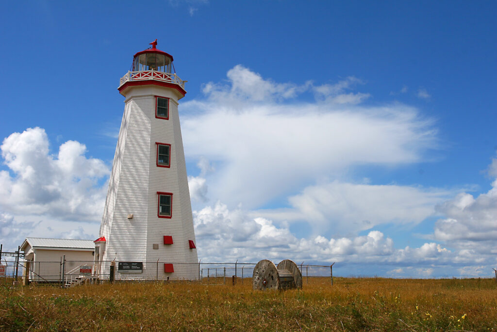 North Cape Lighthouse in Prince Edward Island.