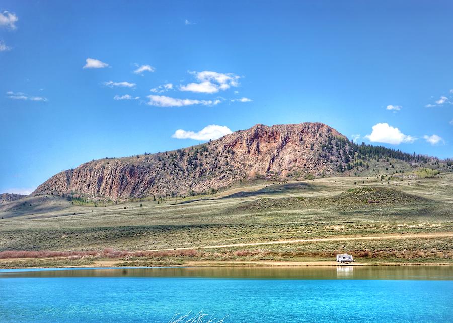 North Delaney Lake in Colorado.