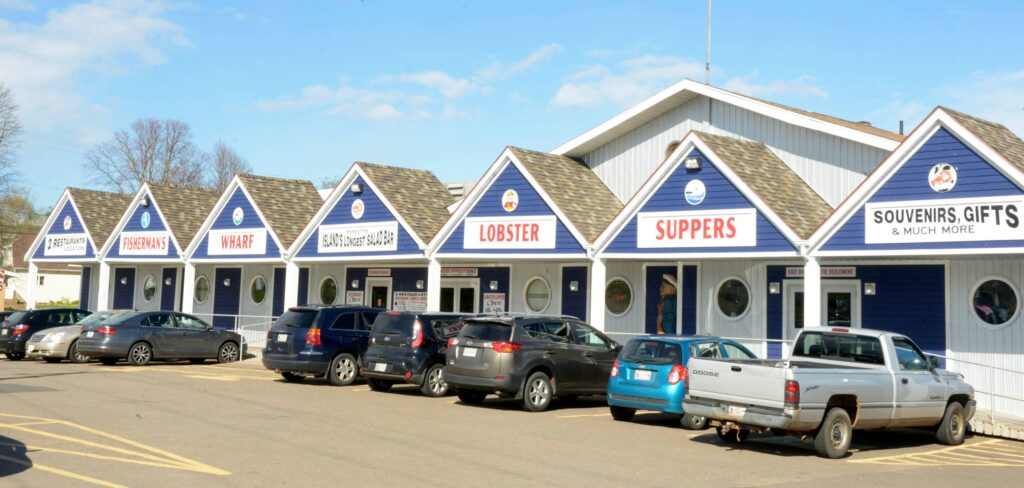 North Rustico's Fisherman's Wharf Lobster Supper.