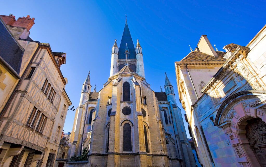 Notre Dame Church in Dijon, France.