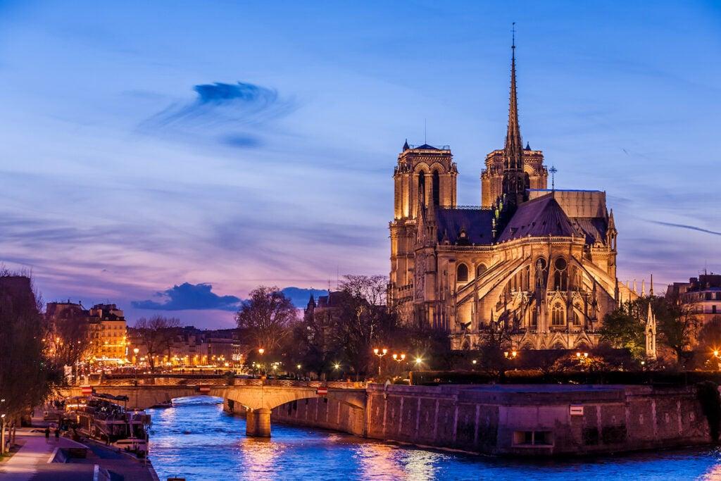 Notre Dame de Paris Cathedral.