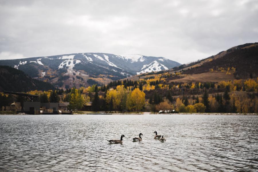 Nottingham Lake in Avon, Colorado.