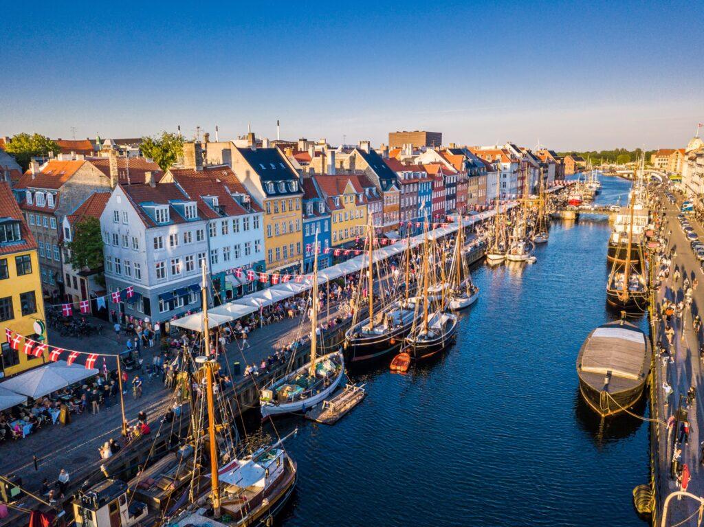 Nyhavn in Copenhagen.
