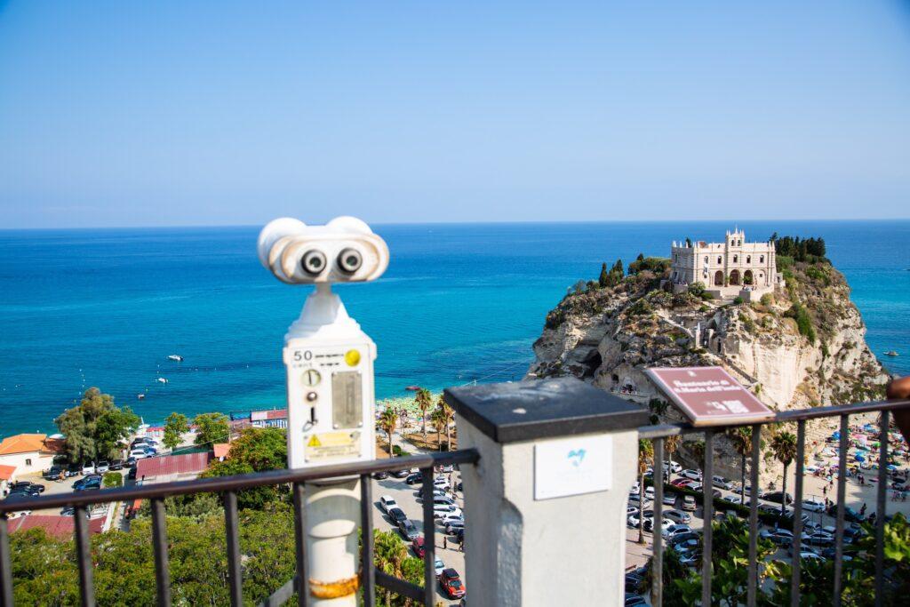 Observation platform at Santa Maria dell'Isola.