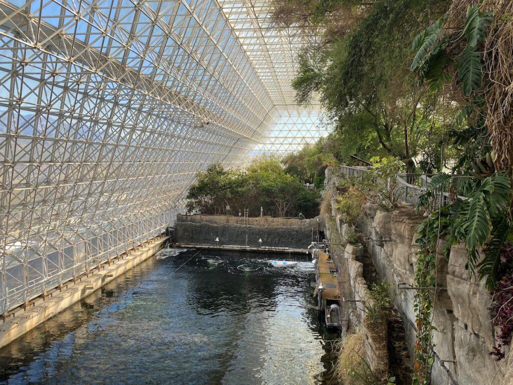 Ocean at Biosphere 2, Arizona.
