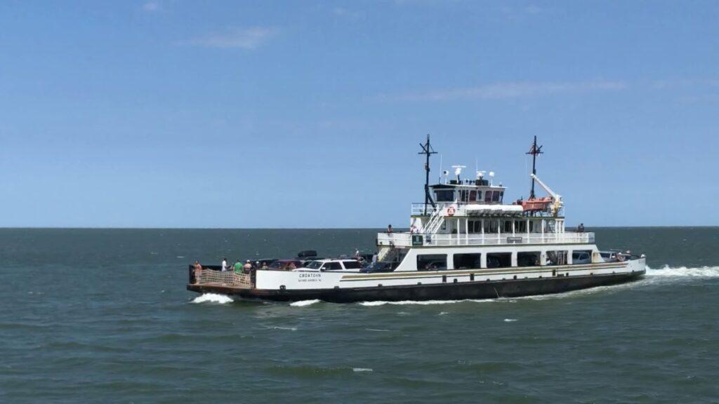 Ocracoke Island Ferry, North Carolina.