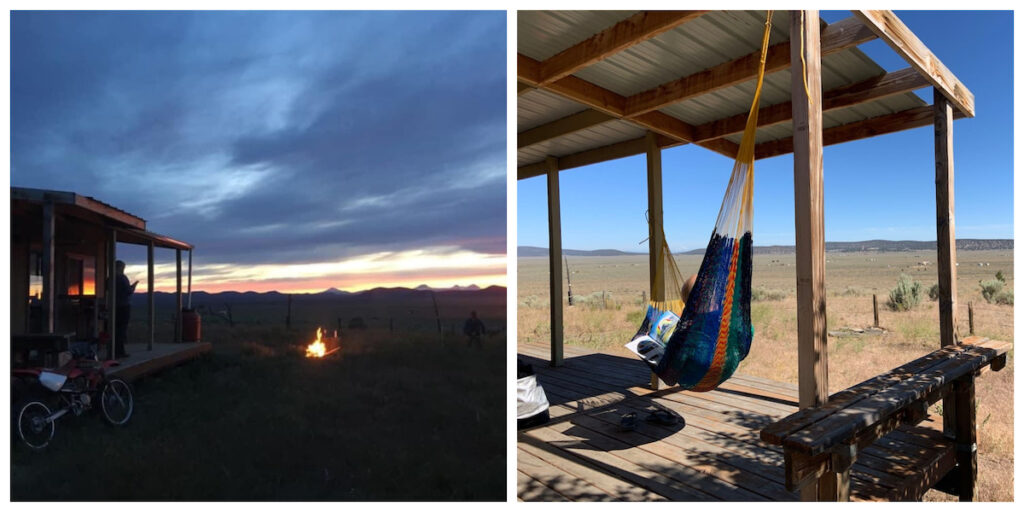 Off Grid Relaxation and Inside Sauna in Bend, Oregon.
