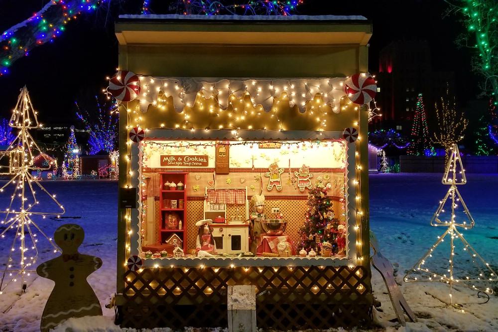 Ogden's Christmas Village in Utah.
