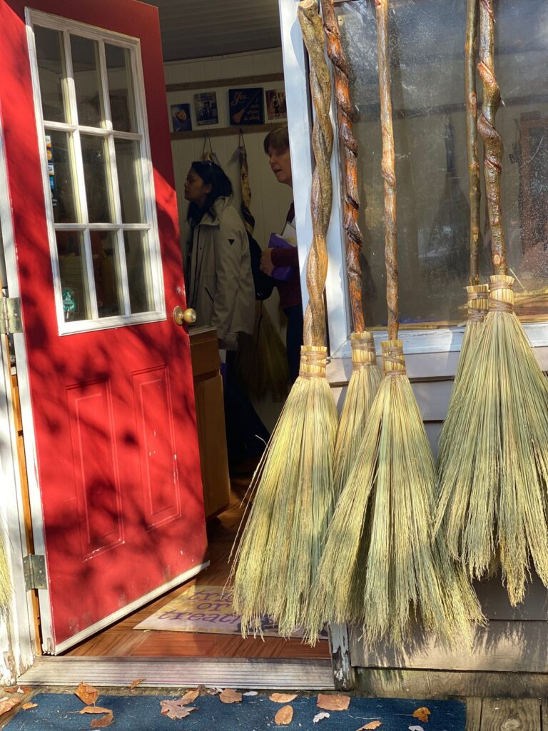 Ogle's Broom Shop on the Arts and Crafts trail.