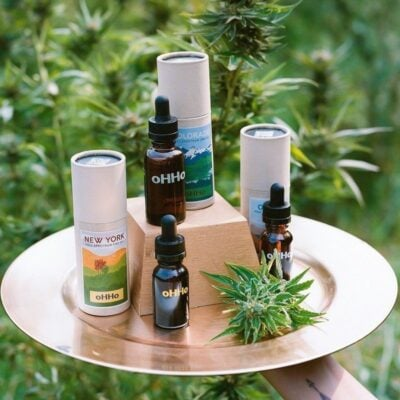 oHHo CBD products