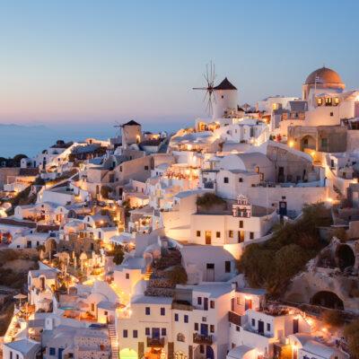 Oia Village in Greece.