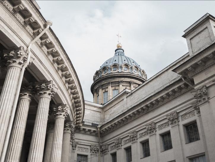 Old building in St. Petersburg.