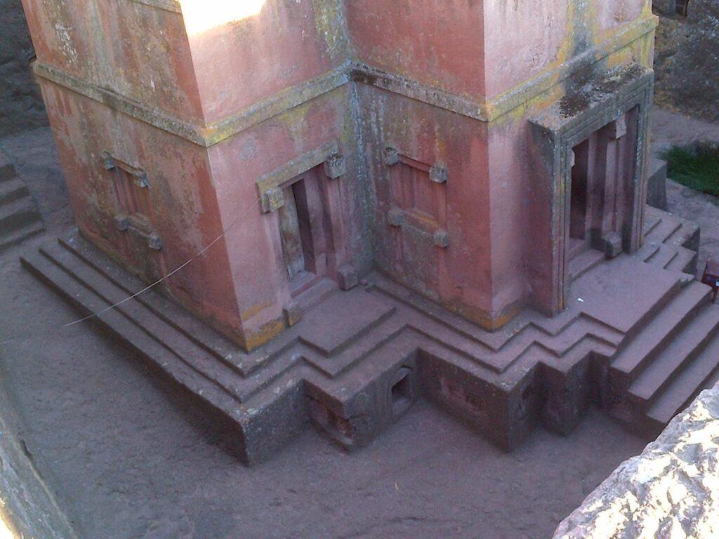 Old building, Lalibela, Ethiopia.