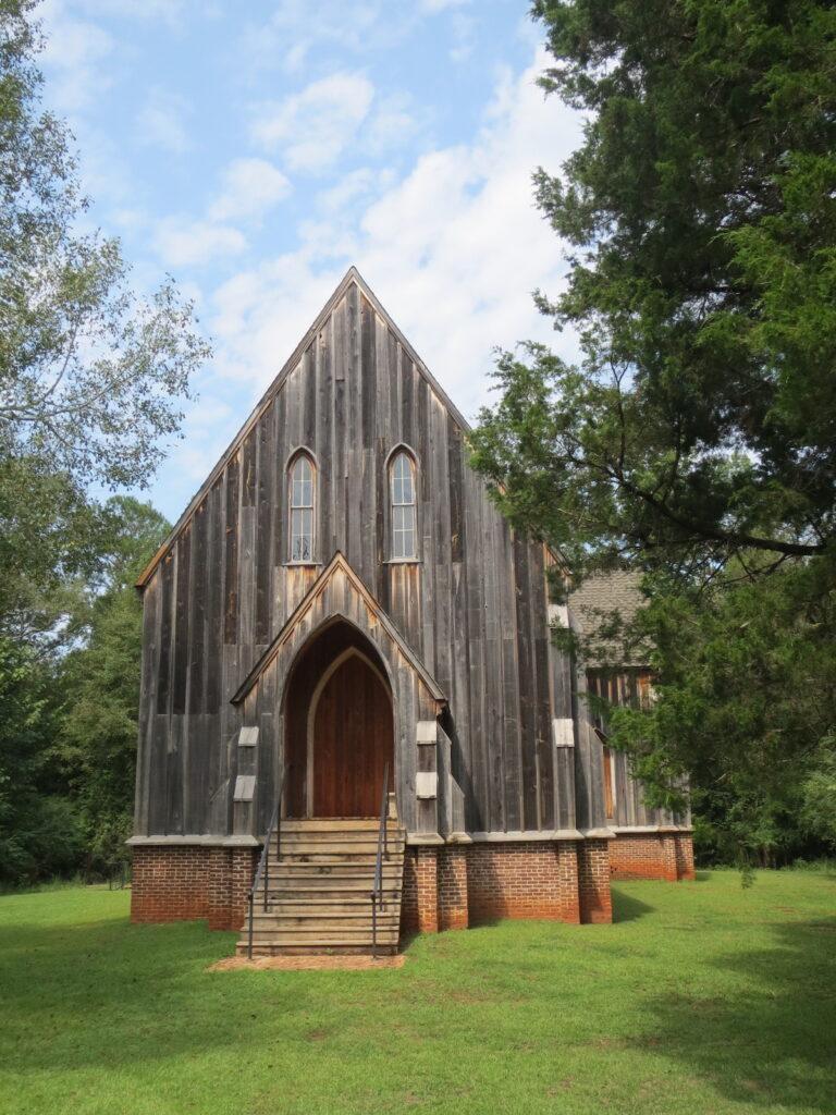 Old Cahawba Archaeological Park in Alabama.