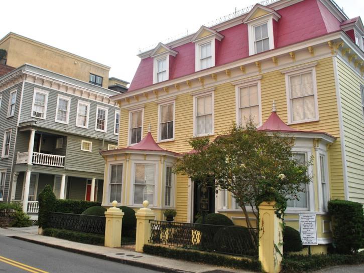 Old houses in Charleston, South Carolina