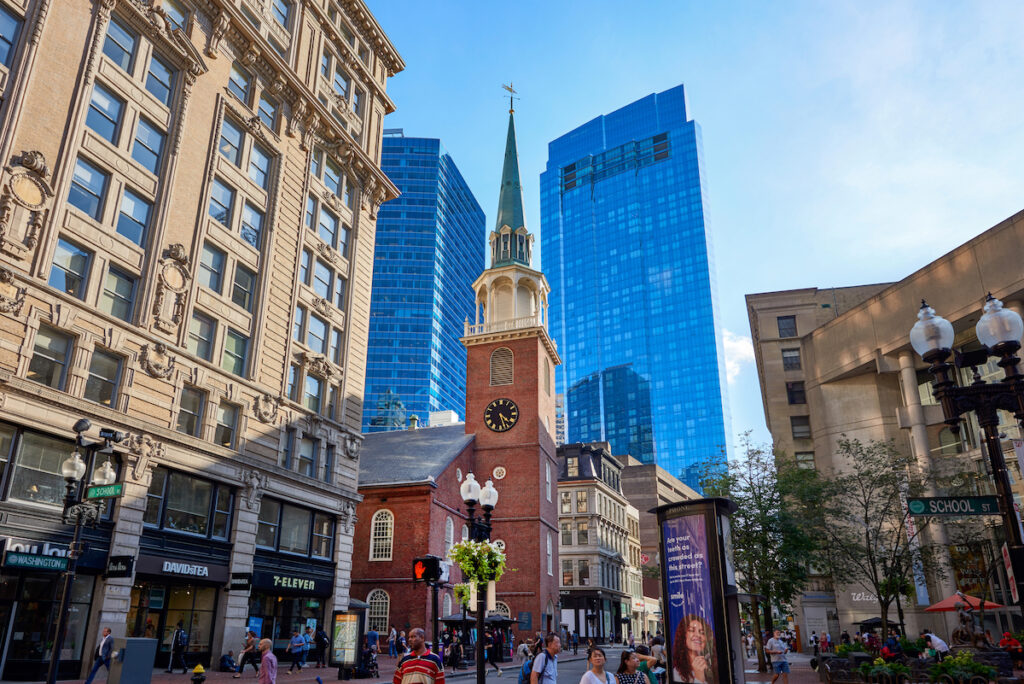 Old South Meeting House, Boston, MA.