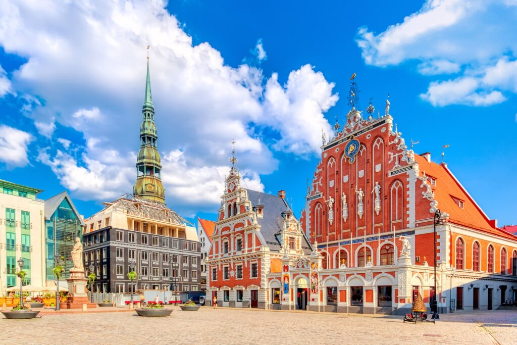 Old Town in Riga, Latvia.
