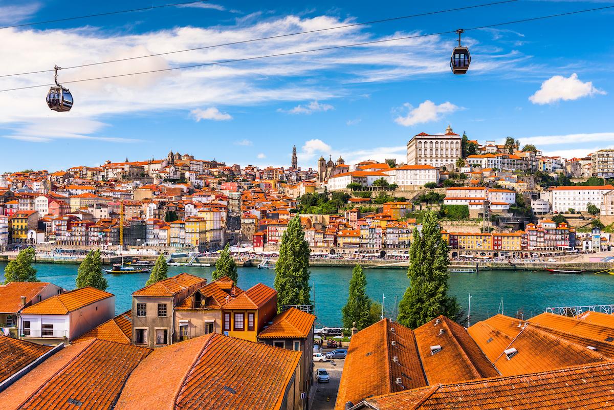 Old town Porto, Portugal.