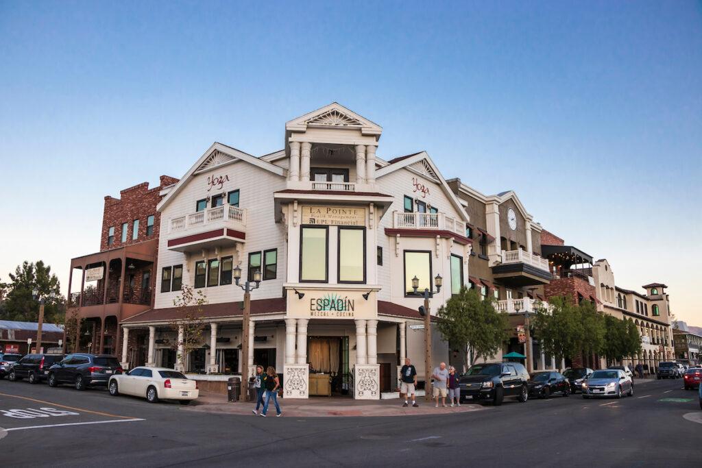 Old Town Temecula in California.