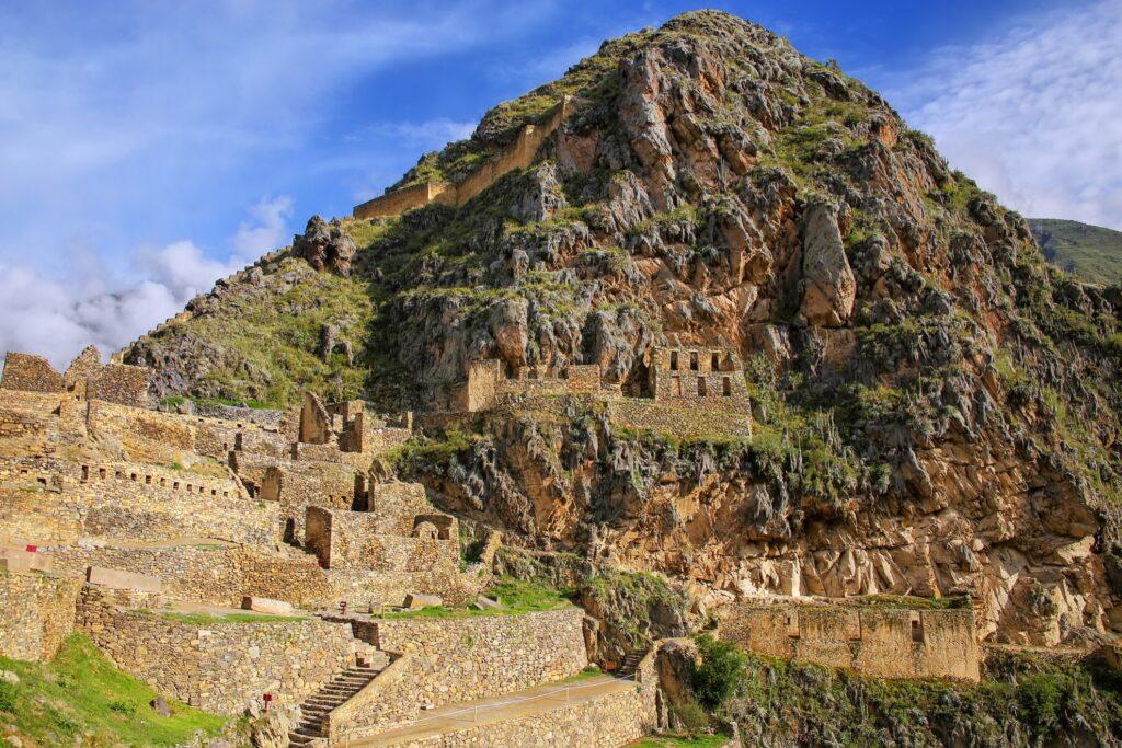 Ollantaytambo in Peru.