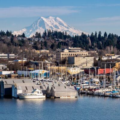 Olympia, the state capital of Washington.
