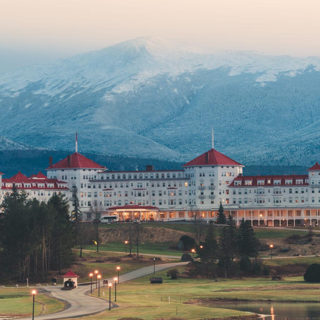 Omni Mount Washington Resort in Bretton Woods, New Hampshire.