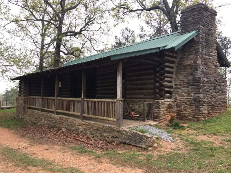 One of Flagg Mountain's cabins.