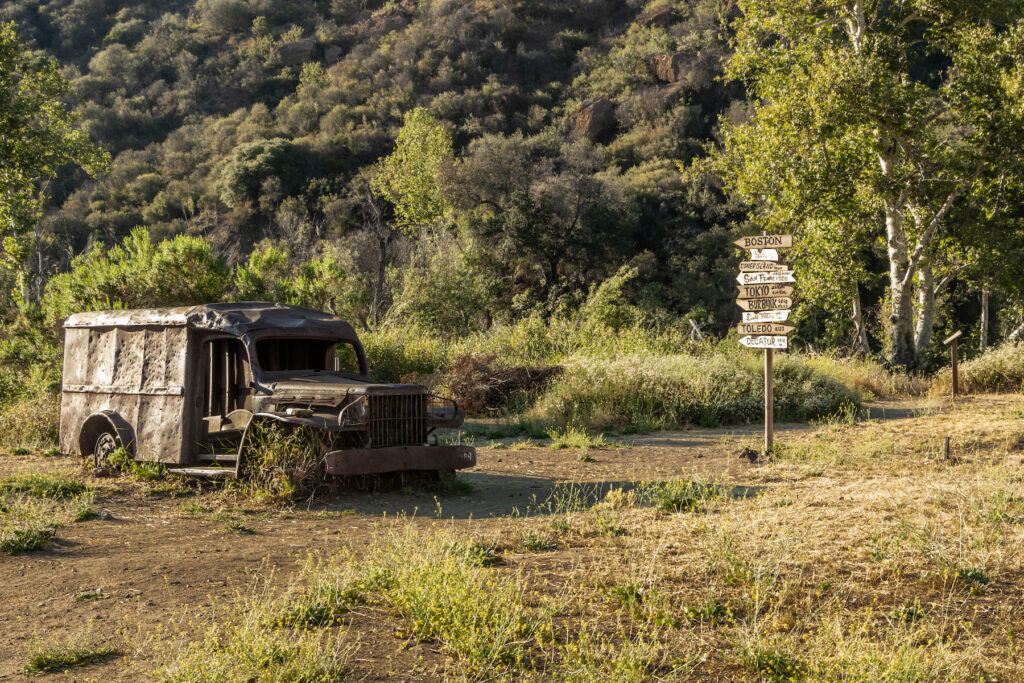 One of the cars from MAS*H in Malibu Creek State Park.