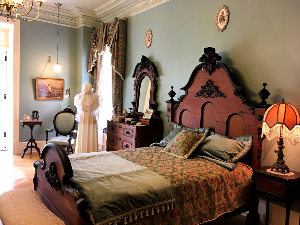 One of the children's bedrooms in Boldt Castle.
