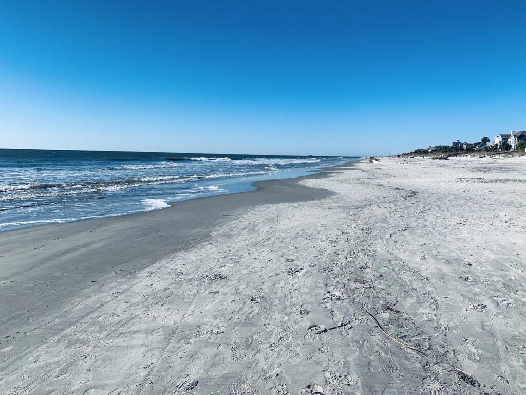 One of the many beaches on Hilton Head island.