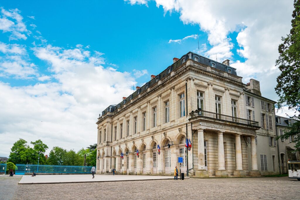 One of the many historical museum buildings in Bourges.