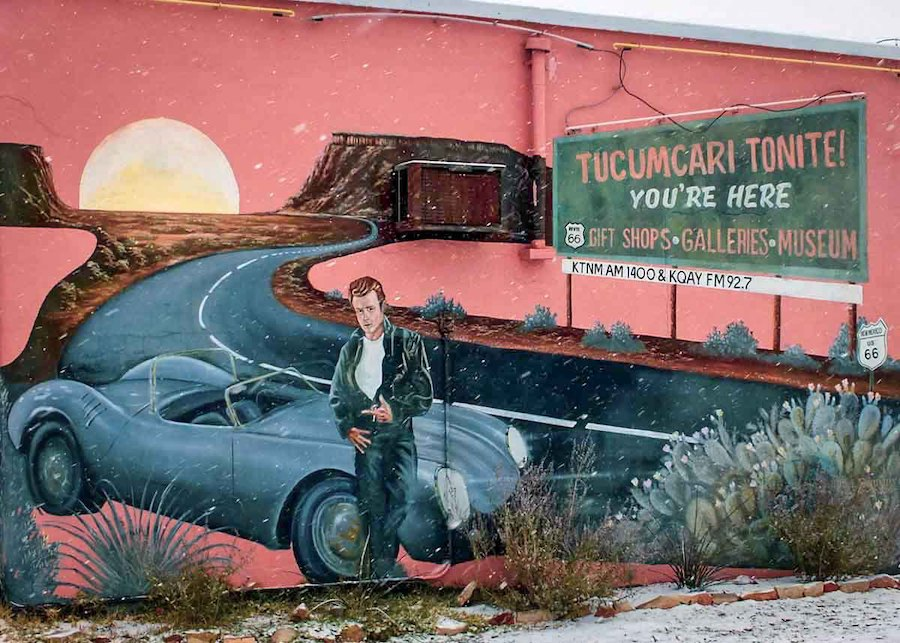 One of the many murals in Tucumcari, New Mexico.