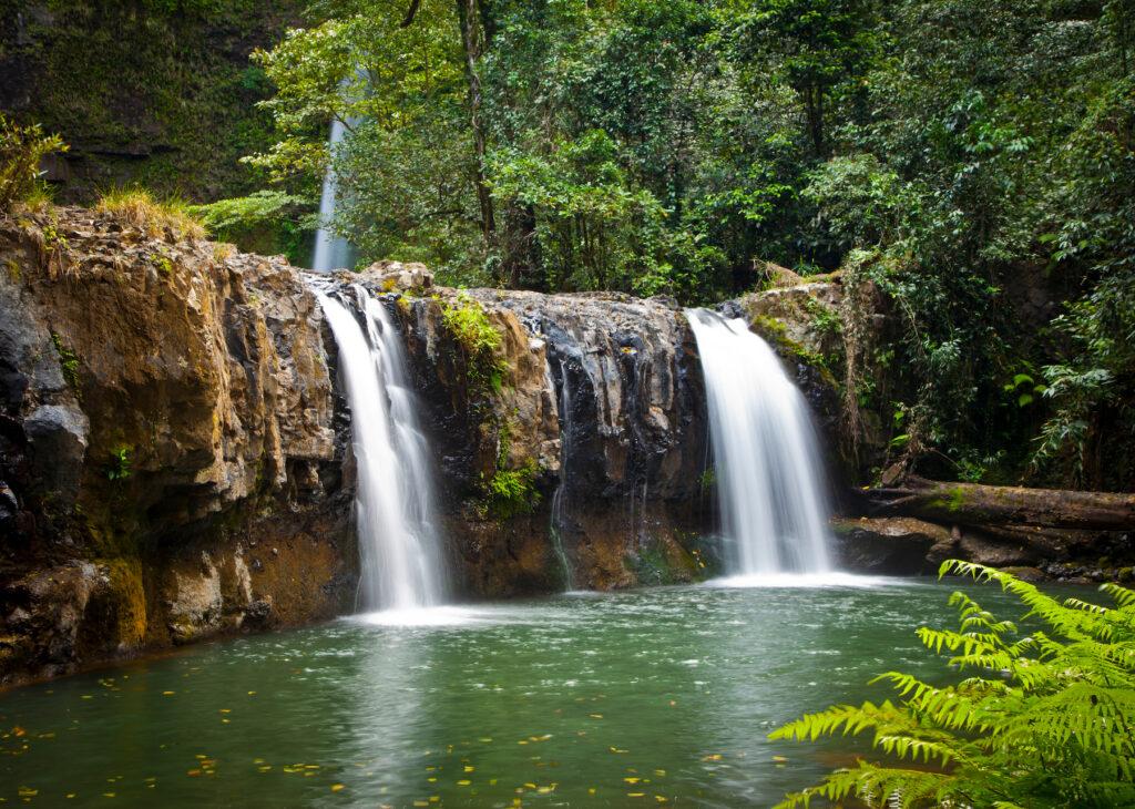 One of the many waterfalls in Wooroonooran National Park.